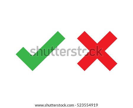 Check mark vector