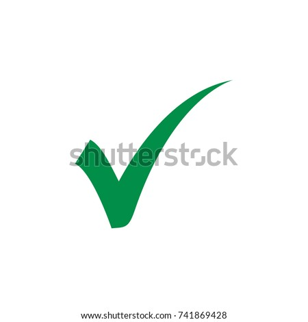 check mark vector icon, agree icon