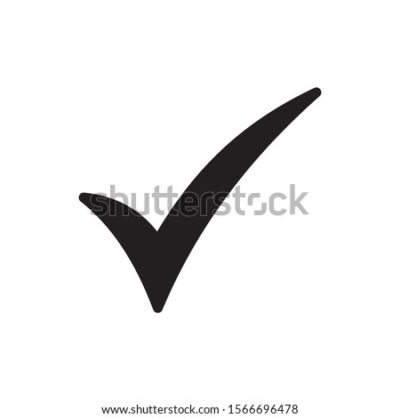 check mark vector icons. Checklist icon vector symbol isolated