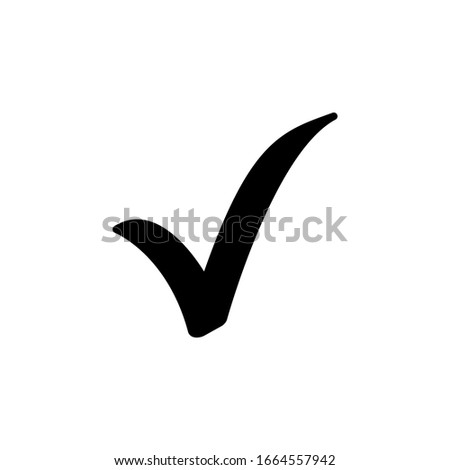 check mark vector icons. Isolated icon - high quality  Foto stock ©