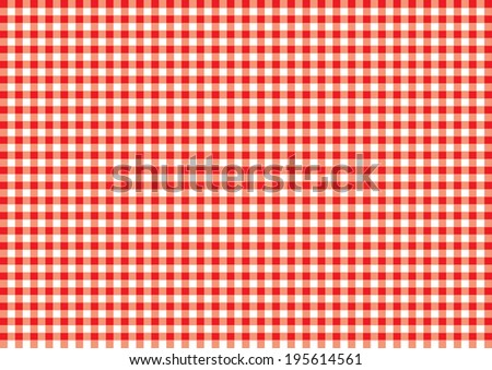Checked Table Cloth Pattern. Vector