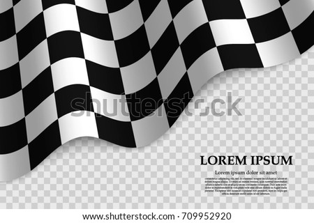 checkered flag background. race flag design.