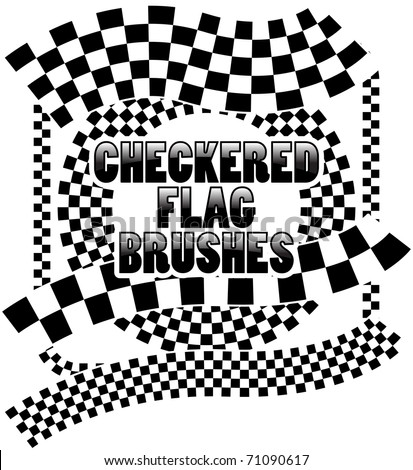 checkered flag brushes