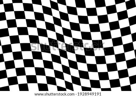 Checkered flag. Race background. Racing flag vector illustration