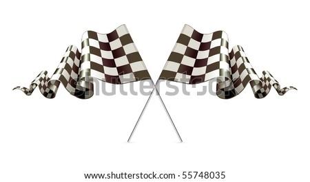 Checkered Flags, Vector