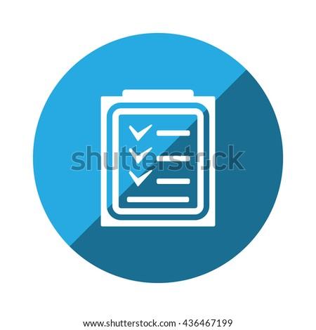 Checklist Icon #436467199