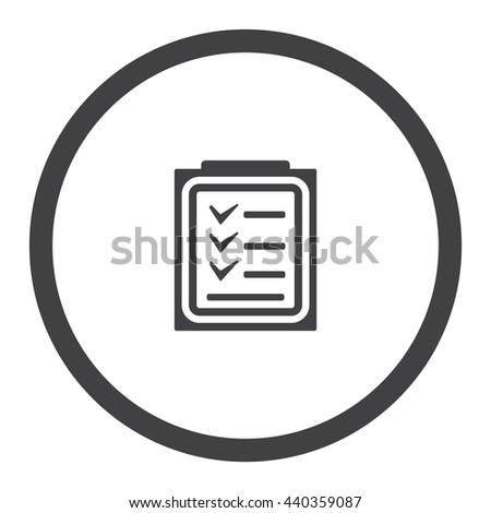 Checklist Icon JPG #440359087