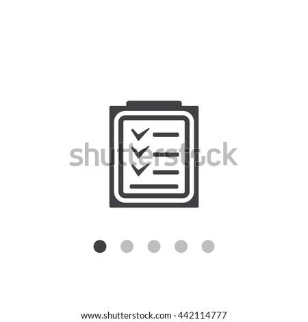 Checklist Icon JPG #442114777