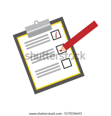 checklist with square cases icon image vector illustration design