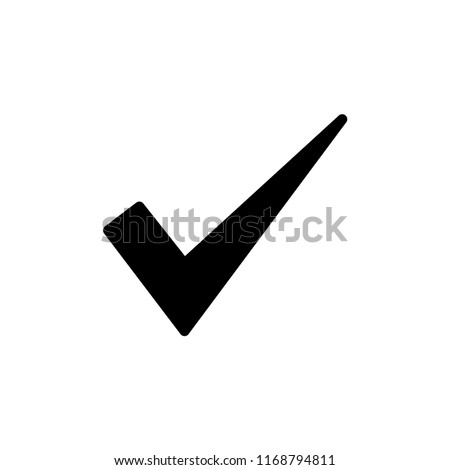 checkmark icon vector