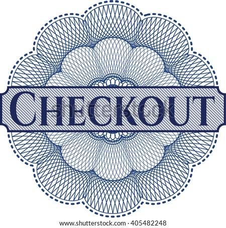 Checkout money style rosette