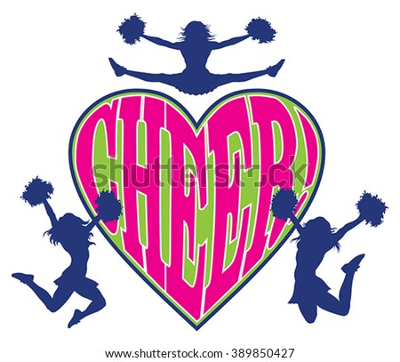 cheer heart is an illustration