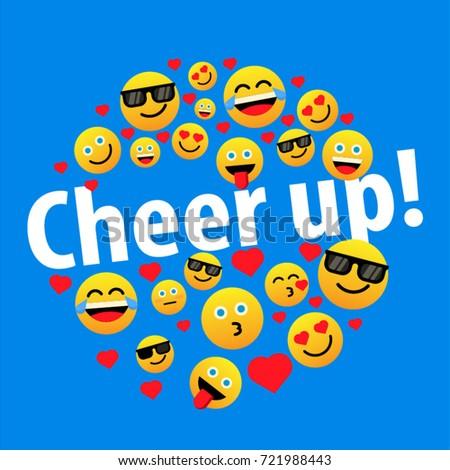 cheer up with emoji