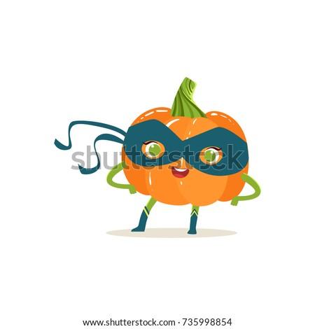 cheerful cartoon character of