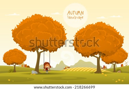 cheerful children play outdoors
