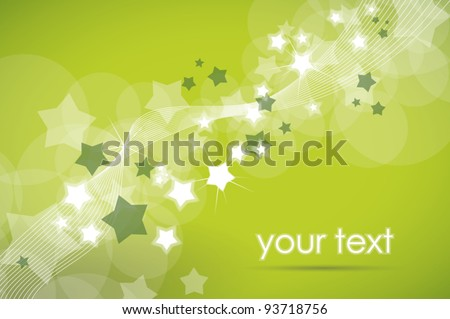 cheerful green background