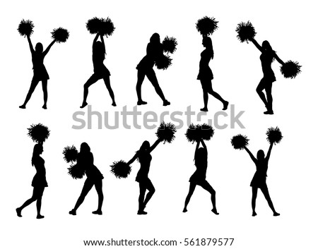 cheerleader dancers figure