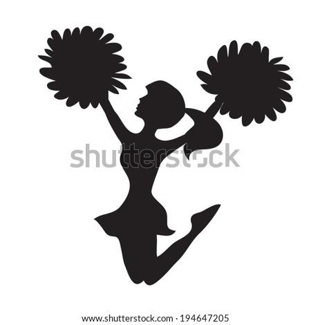 cheerleader vector illustration 194647205 shutterstock football clip art free printable football clip art free images