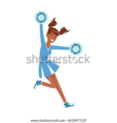 cheerleading girl sport support