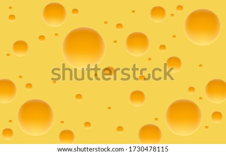 Cheese cube cover, food object white background. Vector illustration