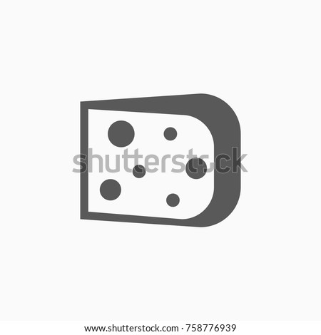 cheese icon, cheese vector