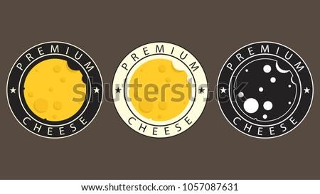 Cheese logo design. cheese vector. logo design. symbol vector.