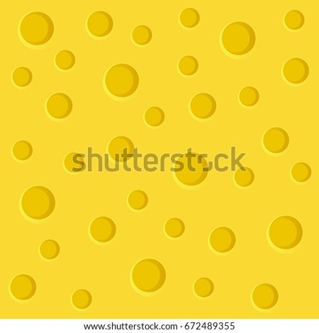 Cheese slice seamless texture background