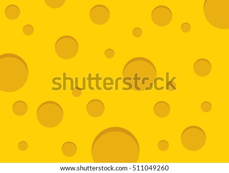 Cheese vector background.