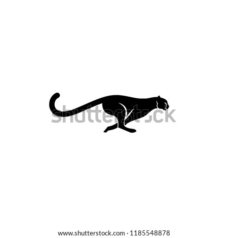 cheetah logo icon designs vector