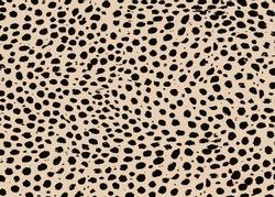 Cheetah skin pattern design. Cheetah spots print vector illustration background. Wildlife fur skin design illustration for print, web, home decor, fashion, surface, graphic design