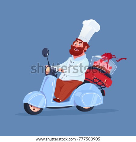 chef cook riding electric