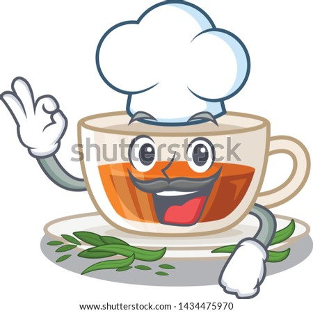 chef darjeeling tea in the