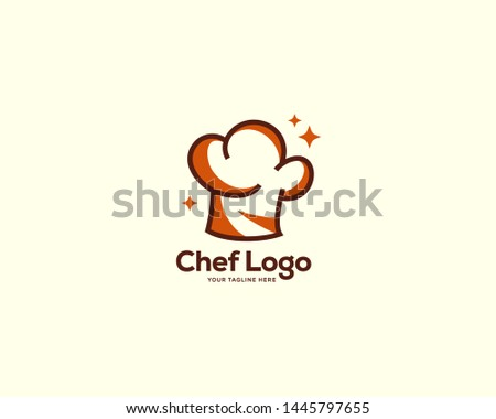a5570578cb2e6 chef logo design concept vector, restaurant logo template, chef hat logo  symbol icon