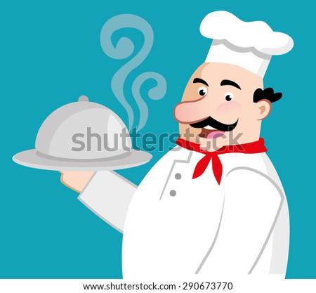 chef preparing the menu