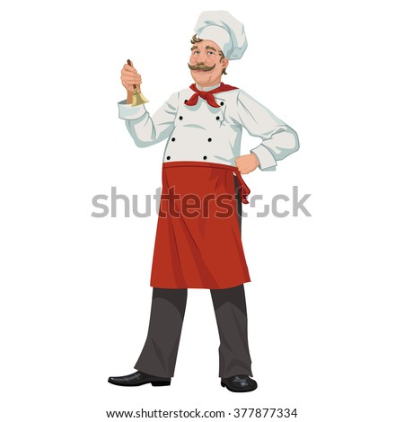 Chef with a bell