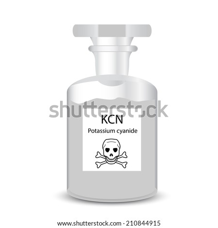 chemical container with toxic