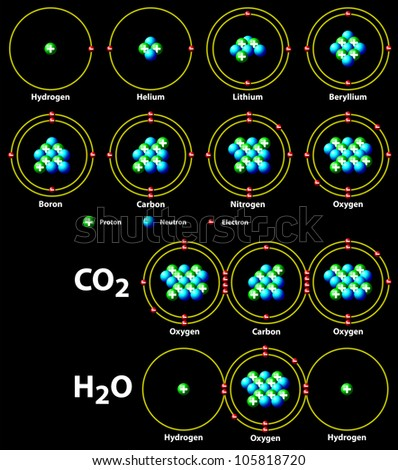 chemical covalent bonds black