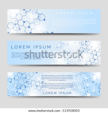 chemical horizontal banners