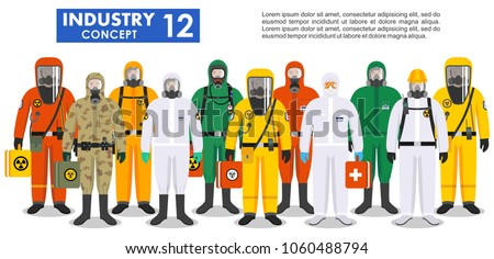 chemical industry concept....