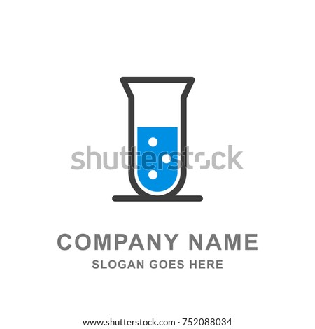 Chemical Science Research Laboratory Logo Vector Icon