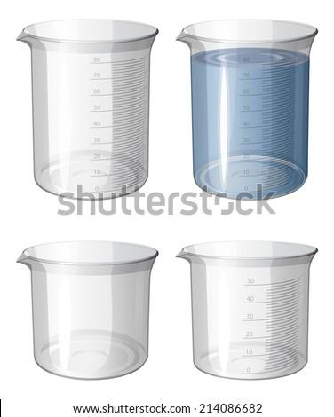 chemistry apparatus   beaker