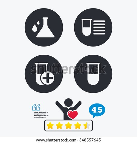 chemistry bulb with drops icon