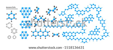 Chemistry. Formulas of chemical elements, molecules. Set for for your design - banners, posters, placards, brochures, flyers etc. Eps10 vector set.