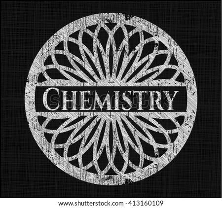 Chemistry on chalkboard