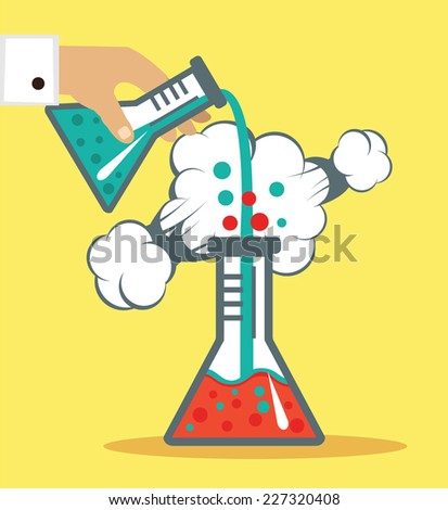 chemistry vector illustration