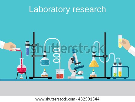 chemists scientists equipment