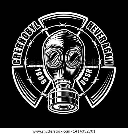 chernobyl gas mask of ussr