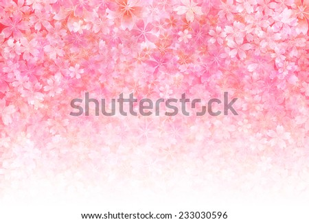 Cherry background greeting cards