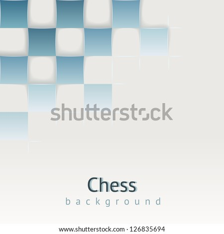 chess background with drop