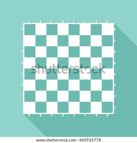 chess board vector icon with